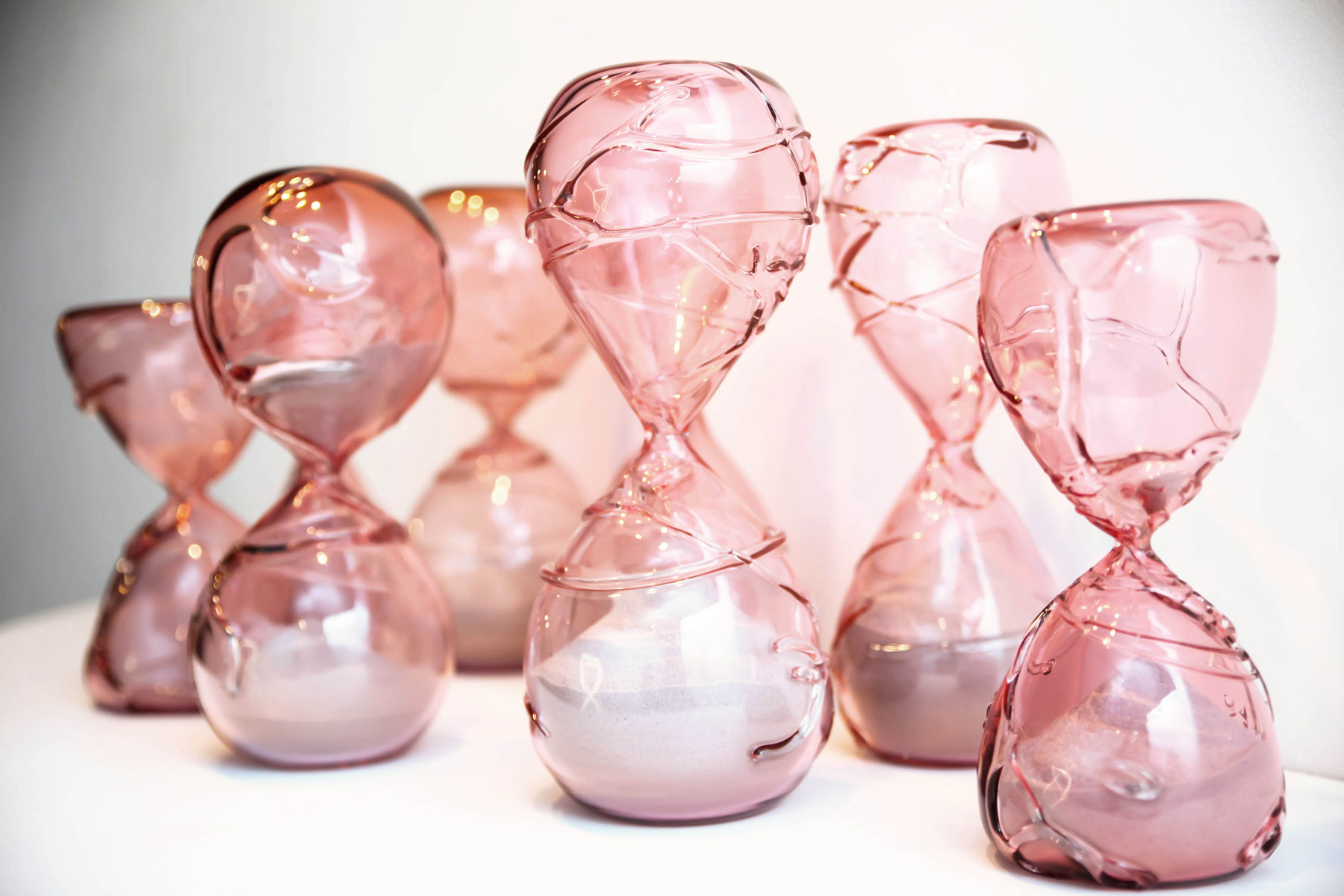 Creative Aging Series Pink Hourglass